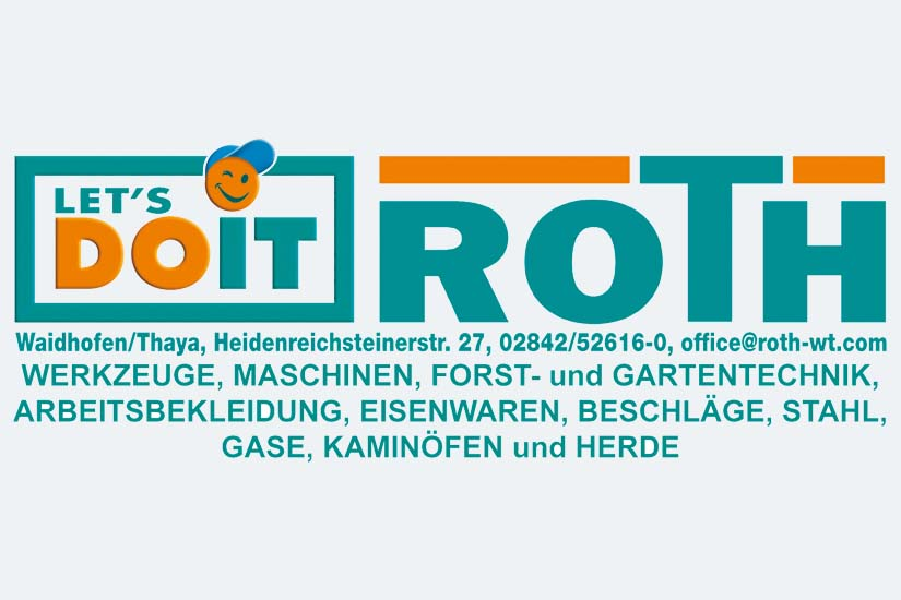 Logo Let´s do it - Roth